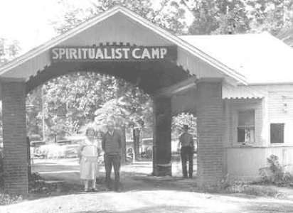 Spiritualist Camp Vintage Front Entrance