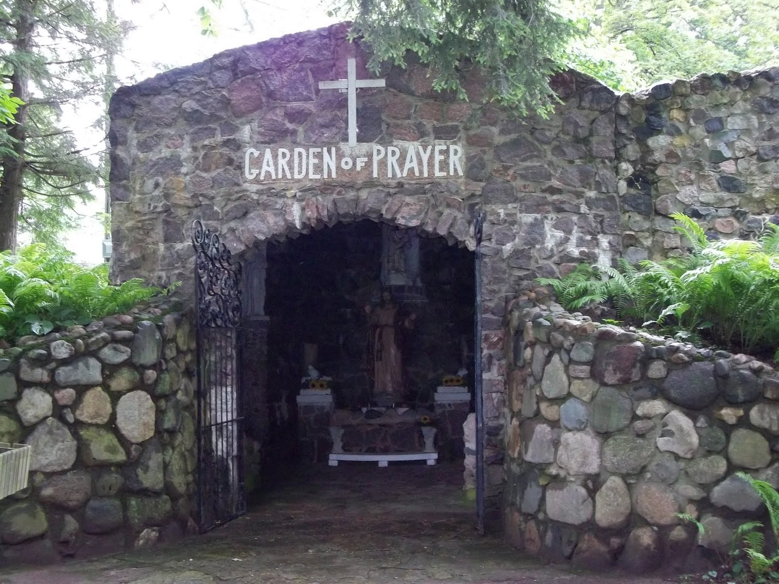 Garden of Prayer - Inside Camp Chesterfield