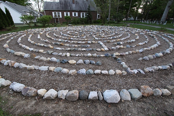 Labyrinth - Camp Chester field - Spiritual Center of Light