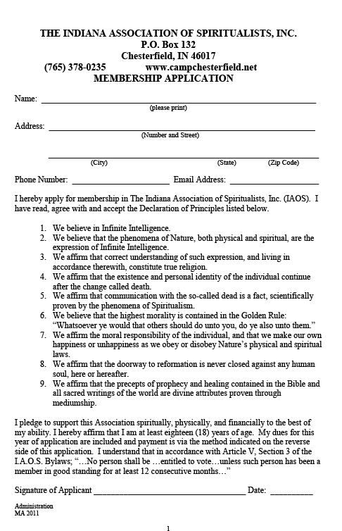Membership Application-1