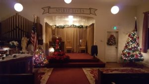 Chapel at Christmas Time