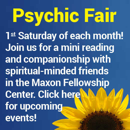 Psychic Fair at Camp Chesterfield