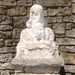 Zoroaster Statue - Inside Camp Chesterfield