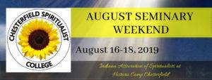 2019 August Seminary Weekend