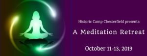 2019 Meditation Retreat Banner - Fall