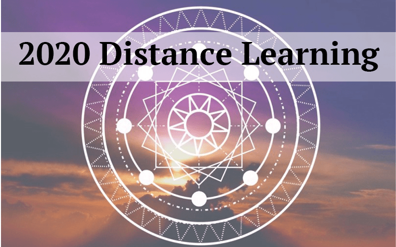 2020 Distance Learning